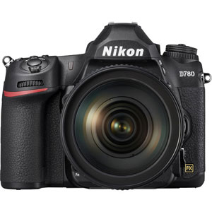 Nikon D780 DSLR Camera with 24-120mm Lens - 2 Year Warranty - Next Day Delivery