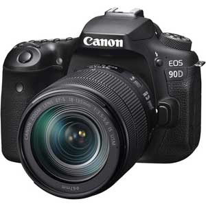 Canon EOS 90D 18-135 IS USM - 2 Year Warranty - Next Day Delivery