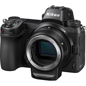 Nikon Z7 Mirrorless Digital Camera with FTZ Mount Adapter Kit - 2 Year Warranty - Next Day Delivery